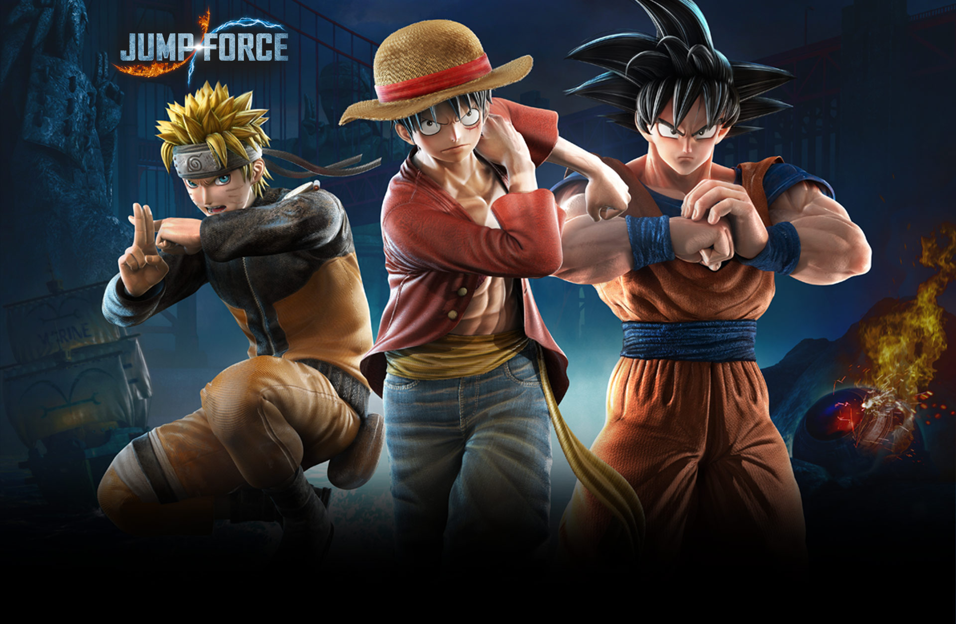 Carousel JUMP FORCE