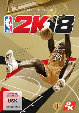NBA 2K18 Legend Edition Gold