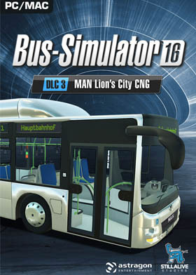 Bus Simulator 16 MAN Lion's City CNG Pack (DLC3)