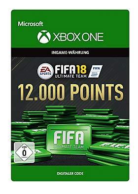 FIFA 18: Ultimate Team FIFA Points 12000 - Xbox