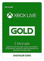 Xbox Live Gold - Mitgliedschaft 3 Monate [Xbox Live Online Code]