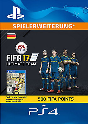 500 FIFA 17 Points-Set  - Playstation