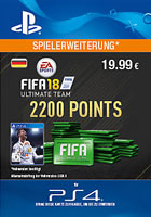 FIFA 18 Ultimate Team 2200 Points - PlayStation