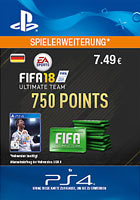 FIFA 18 Ultimate Team 750 Points - PlayStation