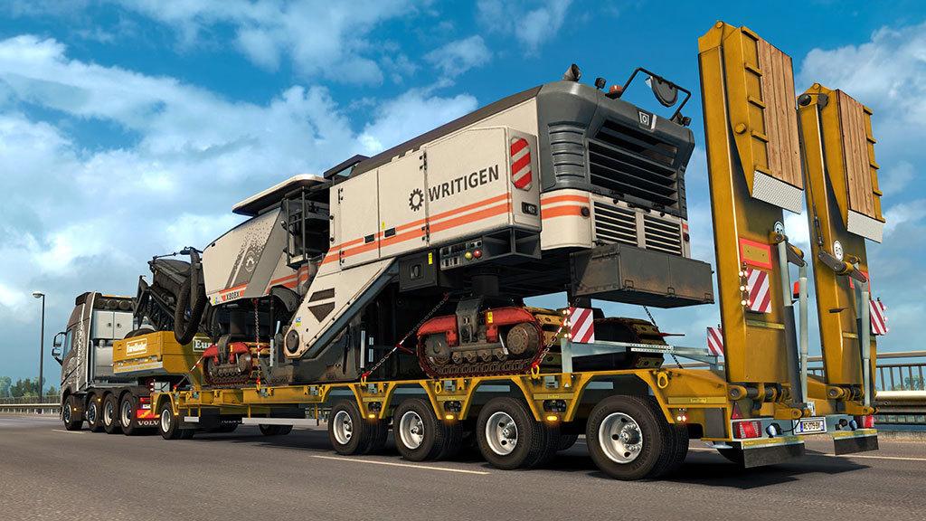 euro truck simulator 2 heavy cargo pack dlc gamesload. Black Bedroom Furniture Sets. Home Design Ideas
