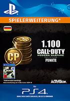 1.100 Call of Duty®: Modern Warfare® Remastered-Punkte - Playstation