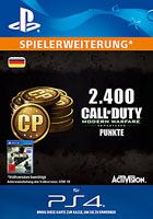 2.400 Call of Duty®: Modern Warfare® Remastered-Punkte - Playstation